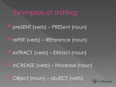verb pattern raise презентация на тему quot word stress ws can be defined as