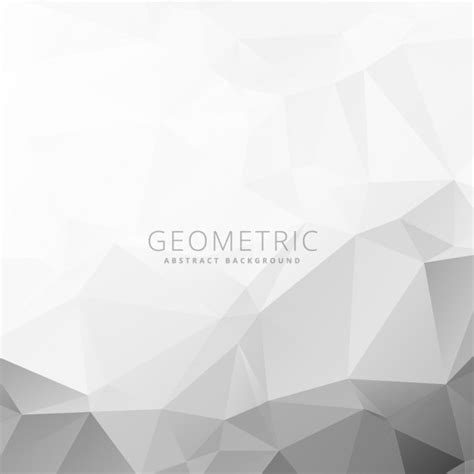 white pattern background vector gray and white geometric background vector free download