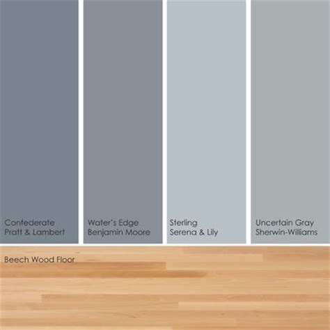 cool colors w light floor paint picks warm up these cool hues by pairing them with a light wood