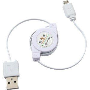 Taffware Normal Charging Sync Data Micro Usb Cable 4cqea8 White taffware retractable charging sync data micro usb cable