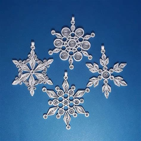 Handmade Paper Snowflakes - 316 best images about quilling snowflakes on
