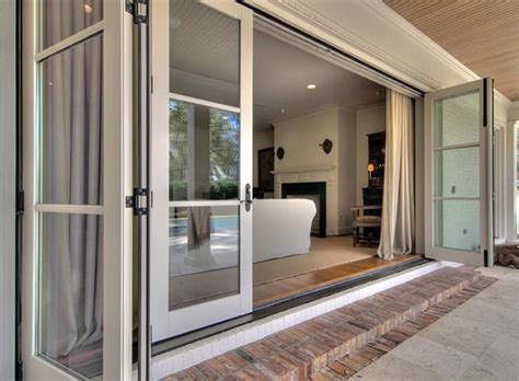 Patio Door Frame Modern Patio Design With Three Panel Sliding Patio Door And Pine Wood Door Frame