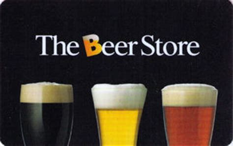 Beer Store Gift Cards - gift card 3 glasses of beer beer store the canada col ca beer 004