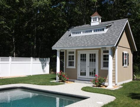 pool shed plans homestead structures crafted pool houses pavilions garages sheds and barns