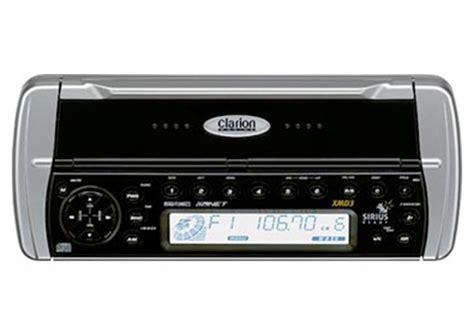 boat fm radio clarion xmd3 marine audio boat water proof 212 watt cd
