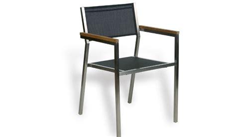 sillas de jard n silla de jardin acero y textilene negro