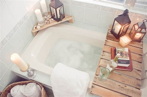 home spa bathroom ideas diy spa tub caddies decorating your small space