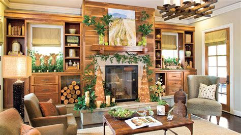 rustic decor southern living
