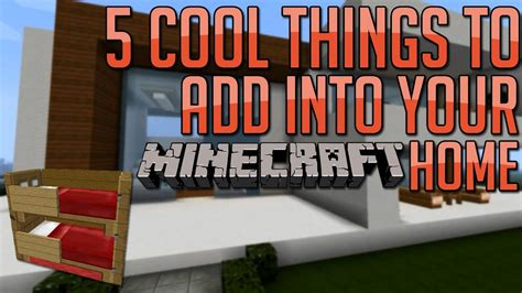 minecraft 5 cool things to add to your house base ep 5