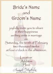 sle words for wedding invitation sms wedding invitation wordings from and groom wedding ideas invitation text