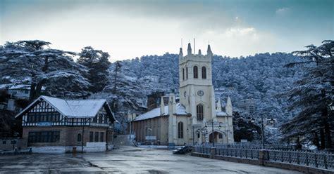 places  visit  shimla  december