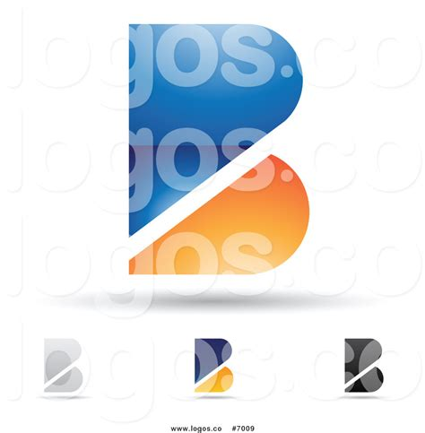 free logo design without registration royalty free clip art vector abstract letter b design