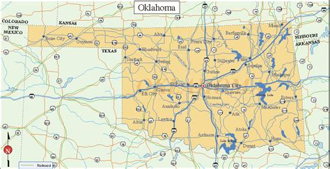 map us oklahoma oklahoma facts and symbols us state facts