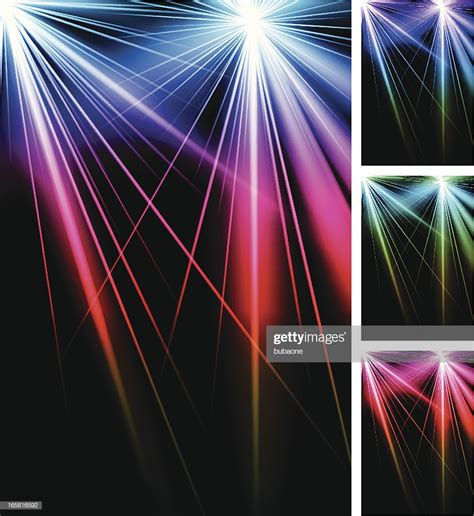 colorful strobe lights abstract laser strobe lights colorful background vector