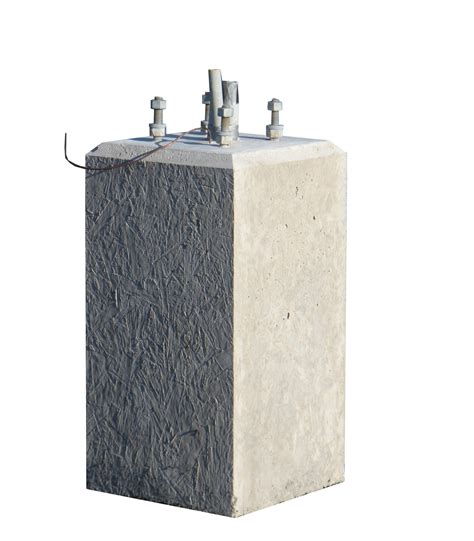concrete light pole base light pole base nitterhouse masonry