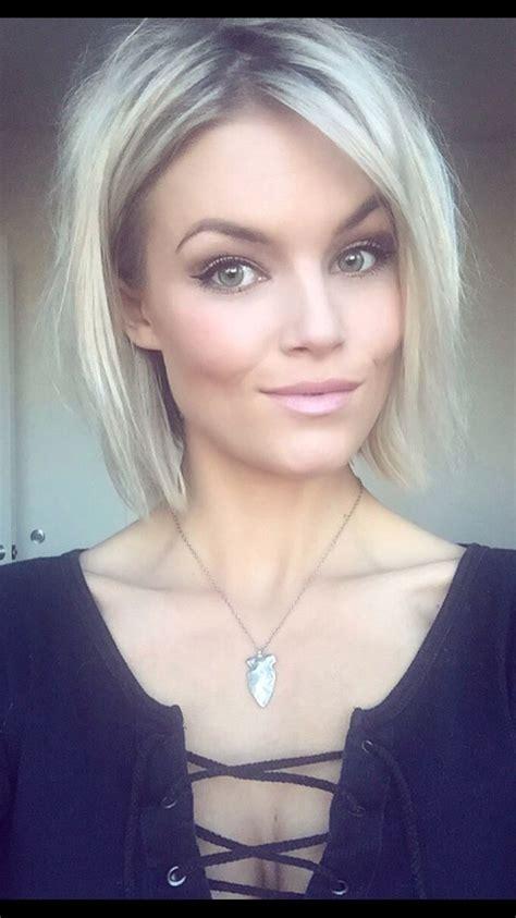 Short choppy blonde hair Krissa Fowles    Hair