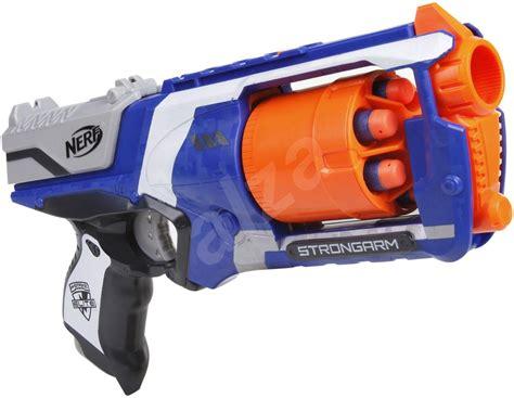 nerf toys nerf n strike elite strongarm gun alzashop