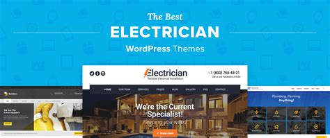 themes gallery com new 11 best electrician wordpress themes for 2018 5 star