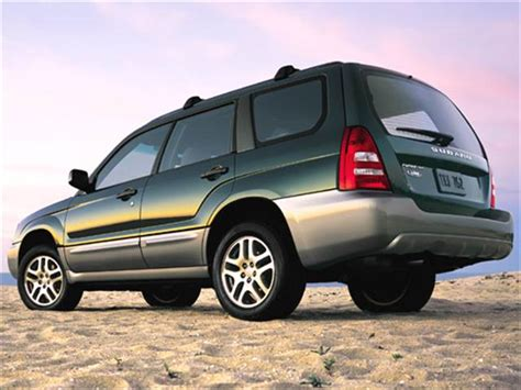 subaru crossover 2005 most fuel efficient crossovers of 2005 kelley blue book