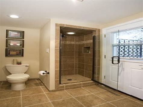 Great Ideas For Small Bathrooms Small Bathroom In A Basement Design Ideas Plans Bathroom