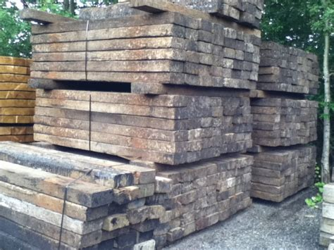 8ft Railway Sleepers by 5 X10 X 8ft To 8ft9 X Class One Second