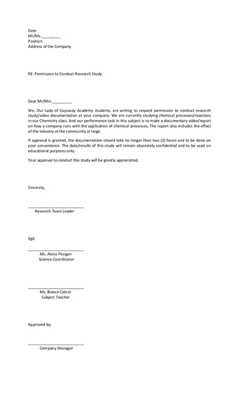 authorization letter request letter of request
