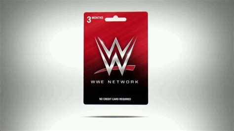 wwe network 3 month subscription tv commercial the wwe gift card ispot tv - Wwe Network Gift Card Online