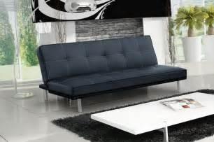 Delightful Salon De Coin Moderne #13: Canape-design-3-places-convertible-en-simili-cuir-noir-31.jpg