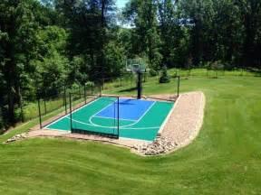 Small Backyard Basketball Court Snapsports Small Backyard Home Basketball Court