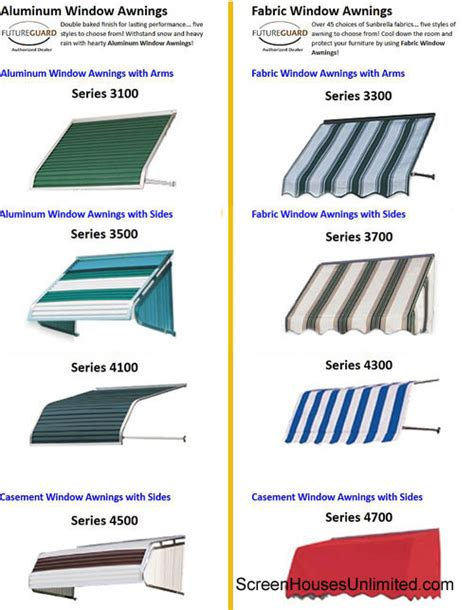 awning options awnings for porch porch awnings porch enclosures