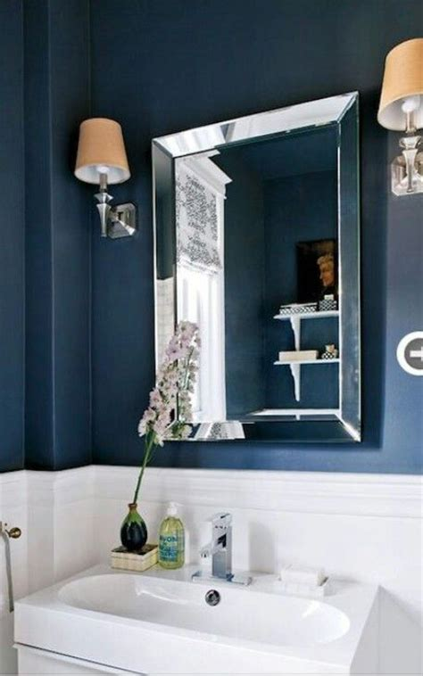 navy blue bathroom ideas dark blue bathroom designs