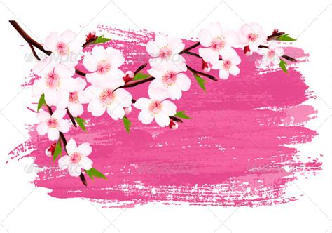 design bunga sakura frame bunga sakura 187 dondrup com