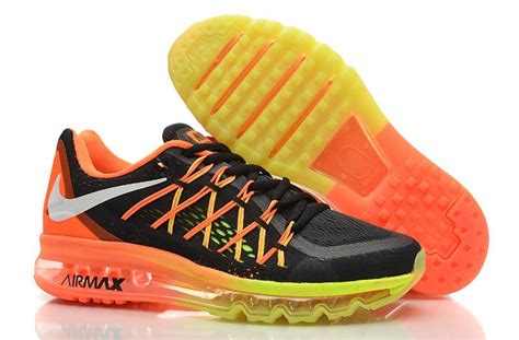 new shoes 2015 new nike air max 2015 s running shoes black orange