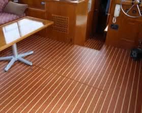 teak holly interior vinyl flooring on display at fort
