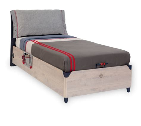 cm beds trio bed with base 100x200 cm bazalar young kids