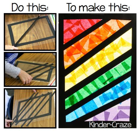 How To Make A Paper Window - rainbow fever