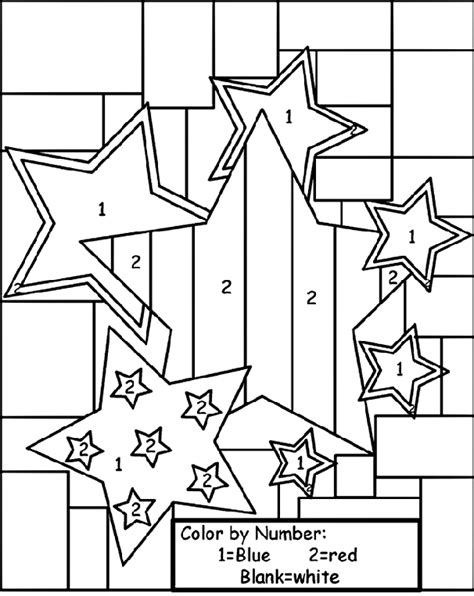 number the stars coloring page star color by number coloring page crayola com