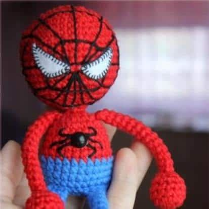Spiderman Amigurumi Pattern Free | amigurumi spiderman crochet pattern amigurumi today