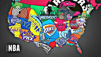 nba map nba teams pictures to pin on pinsdaddy