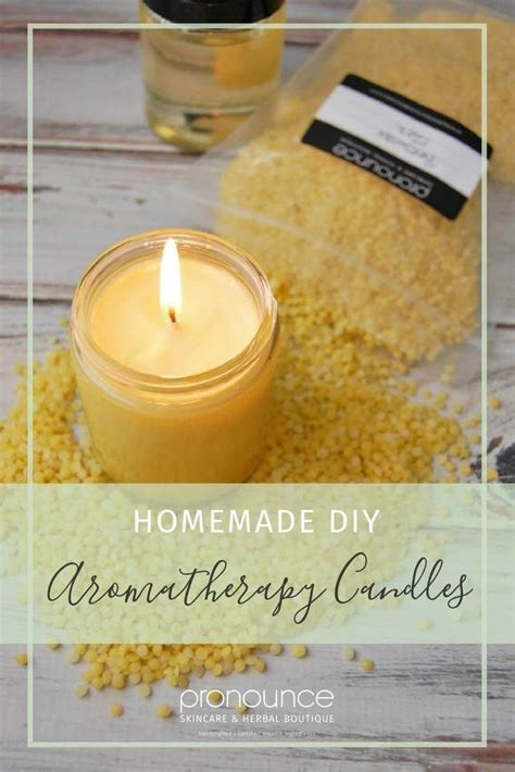 diy pronunciation diy aromatherapy candles pronounce shares a recipe for