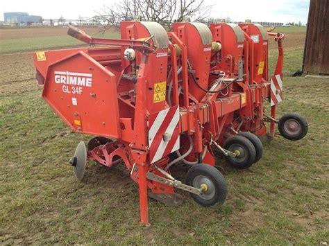 grimme gl 34 f potato planting machine technikboerse