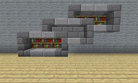 bookshelf interesting bookshelves minecraft enchantment