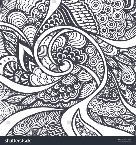 abstract pattern colouring books abstract pattern texture zentangle zendoodle style stock