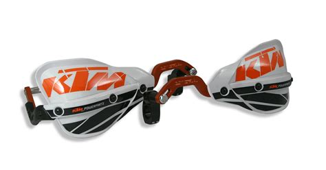 Ktm Handguards Aomc Mx Ktm Probend Crm Handguards By Cycra Orange Anodized