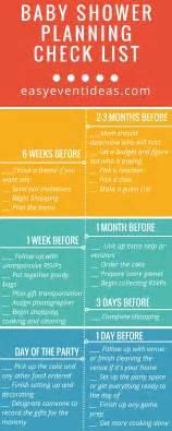 baby shower preparation baby shower planning checklist easy event ideas