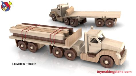 woodworkers toy plans powerful pete  truck fleet youtube