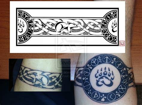 viking armband tattoo designs sablehawk s armband by one rook deviantart on