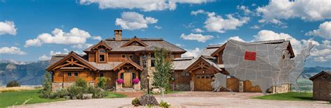 Dream Home Floor Plans by Wyoming Log And Timber Frame Homes By Precisioncraft