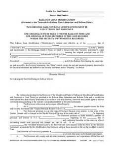 Loan Modification Agreement Template by Multistate Balloon Loan Modification Agreement Hashdoc