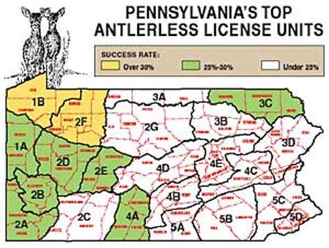pa wmu map pennsylvania s 2010 deer outlook part 1
